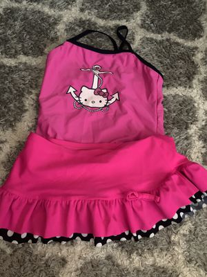 Girls hello kitty swim suit for Sale in Houston, TX