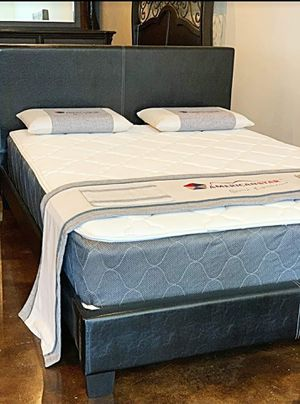 BRAND NEW FULL SIZE BED AND MATTRESS (FREE DELIVERY) for Sale in Dallas, TX