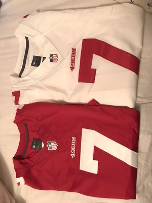NWT 100% Authentic Colin Kaepernick Nike On-Field Jersey 49ers NFL for Sale in Tampa, FL