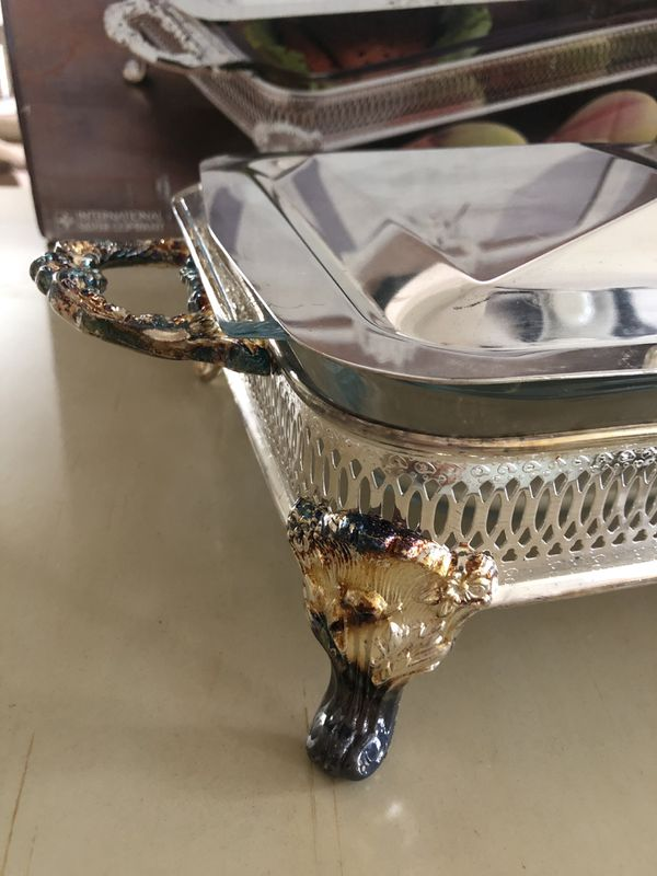 International Silver Company Silver Plated Buffet Server