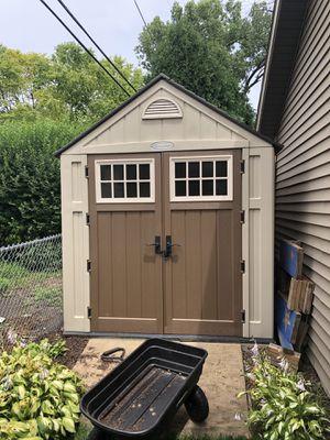 Suncast storage shed 7x7 for Sale in Elmhurst, IL
