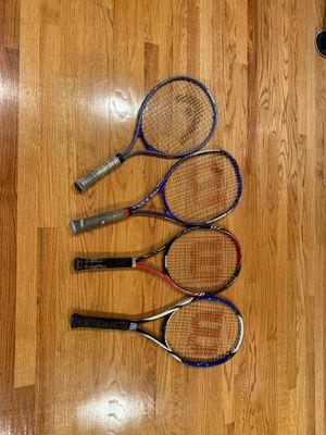 Wilson / Headtennis rackets $20 each for Sale in Arcadia, CA
