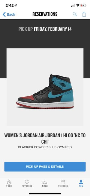 Jordan 1 NC to Chi sz 10m/w11.5 for Sale in Denver, CO