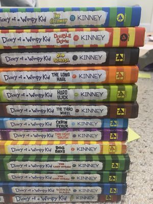 Diary of a Wimpy Kid (1-12) (Hardcover/Softcover) for Sale in Fort Lauderdale, FL