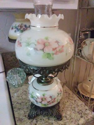 A pair of Vintage Hurricane Lamps for Sale in Brea, CA