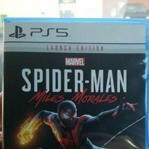 Ps5 Spiderman Sale Or Trade for Sale in Auburn, WA
