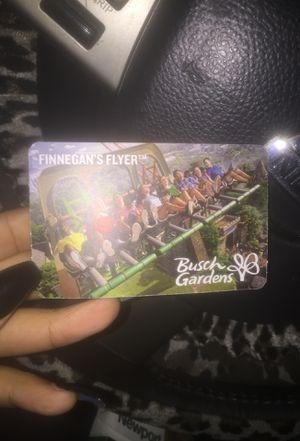 Busch Ticket for Sale in Hampton, VA