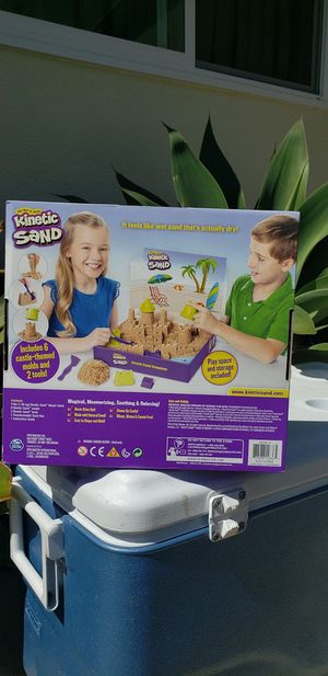 New 3 lbs Kinetic sand Kingdom castle set play-doh play doh clay sandbox Preschool Kindergarten Sensory STEM School Supplies. for Sale in Ventura, CA