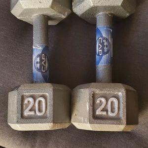 20 Lb Dumbbells Set for Sale in Fremont, CA