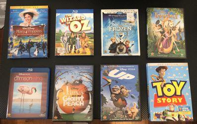 Movie Bundle (Kids Classics) for Sale in Pico Rivera,  CA