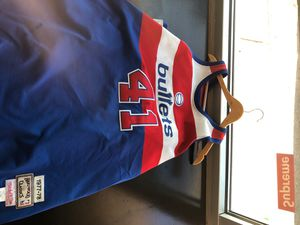 Mitchell & Ness Detroit Bullets for Sale in Richmond, CA