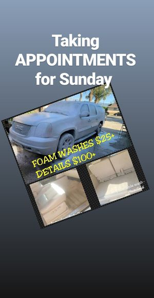 Detailer foam washes for Sale in San Bernardino, CA