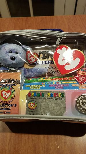 Ty Beanie Baby Vintage Club Kit $14.99 for Sale in Campbell, CA