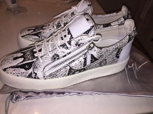 Zebra Giuseppe Zanotti Sneaker shoes size 44 us 11 Like New for Sale in Orlando, FL