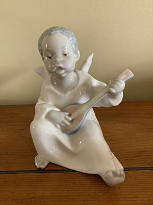 Lladro Angel playing guitar for Sale in Germantown, MD