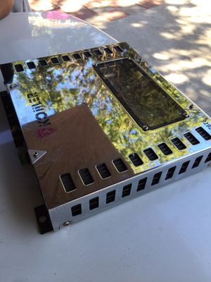 Car amplifier 2-channel highpass/lowpass crossover 600 max (koiiler) for Sale in Los Angeles, CA