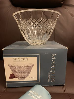 Marquis Waterford crystal bowl for Sale in Louisville, KY