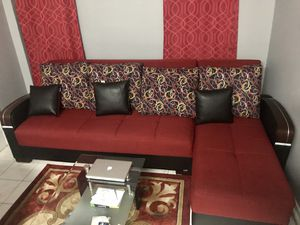 Used, L-shaped sofa & armchair for Sale for sale  Brooklyn, NY