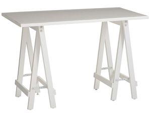 Pier One White Sawhorse Desk for Sale in Redmond, WA