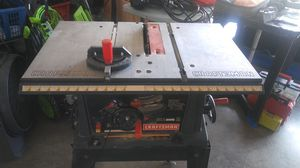 10 -in craftsman table saw for Sale in Cape Coral, FL
