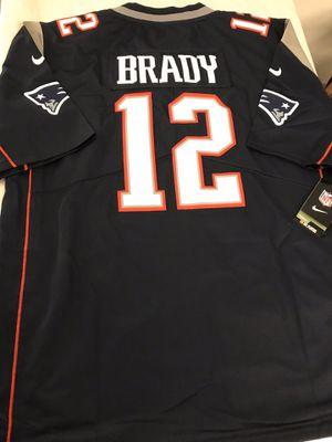 New England Patriots Tom Brady #12 navy blue Jersey for Sale in Dinuba, CA