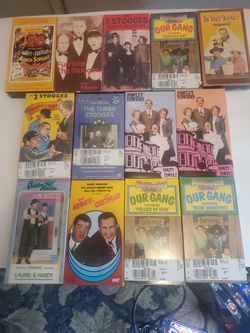 13 VHS Specialty Comedies - Top Variety for Sale in Ontario, CA