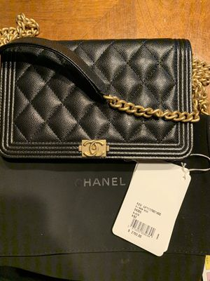 Black Chanel Mini Shoulder Purse with Tags for Sale in Wildomar, CA