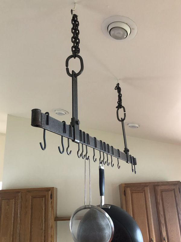 Potrack, hanging