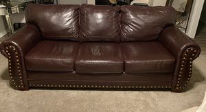 Leather Loveseat and Sofa for Sale in Stockbridge, GA