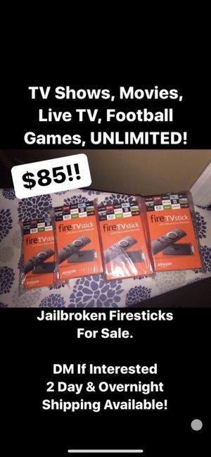 Amazon fire tv sticks for Sale in Bryans Road, MD