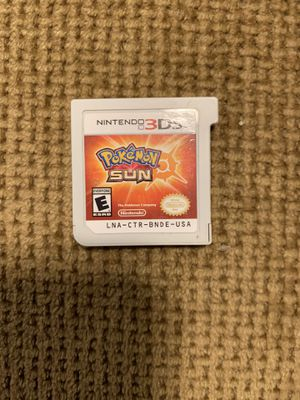 Pokémon Sun Nintendo 3DS for Sale in Lombard, IL