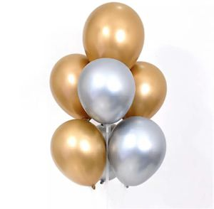 10pcs 12inch Metal Pearl Latex Balloons for Sale in Roselle, NJ