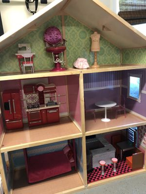 American Girl Dollhouse and Dolls for Sale in Smyrna, TN