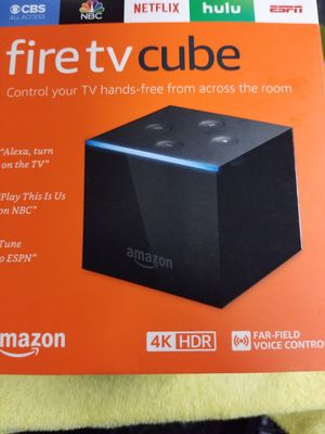 Fire TV cube for Sale in Bratenahl, OH