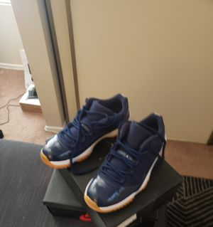 Jordan 11 blue with gum bottoms for Sale in Fillmore, CA