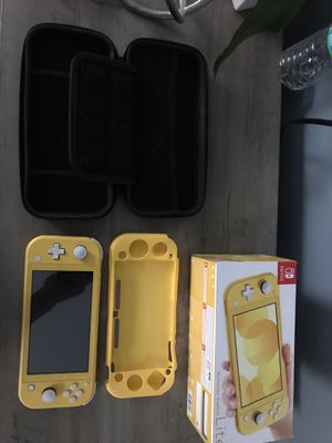 Nintendo switch lite(Almost New) for Sale in Cherry Hill, NJ