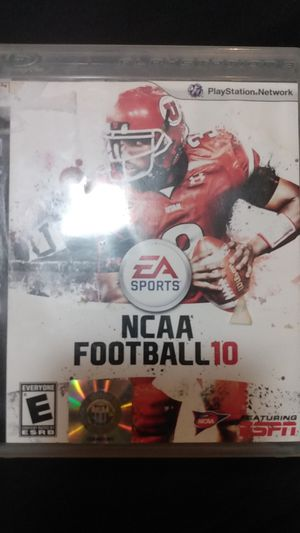 NCAA football 10 for Sale in Detroit, MI