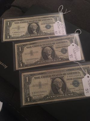 Silver Cert Ones for Sale in Richmond, KY