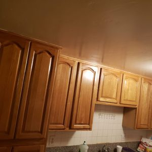 Real Oak Wood Cabinet with Granite Top for Sale in Garden Grove, CA