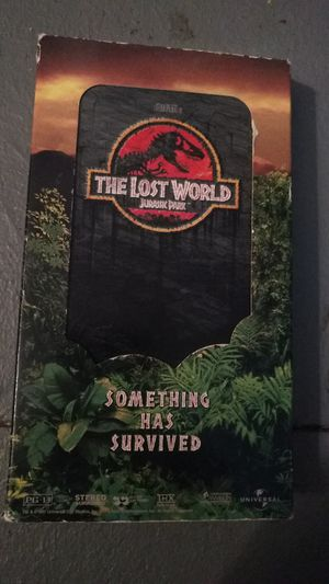 Jurassic Park 2&3 vhs and dvd for Sale in Missoula, MT