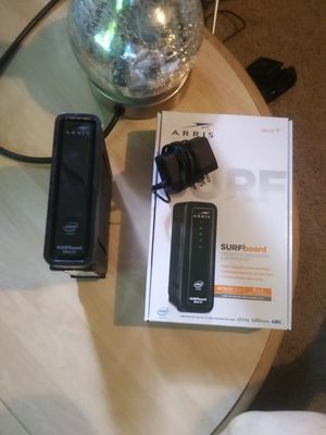 Brand new arris modem & router. Perfect condition for Sale in Marietta, GA