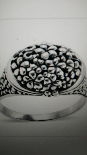 New - solid Sterling Floral, open cut ring size 7 for Sale in Palmetto, FL