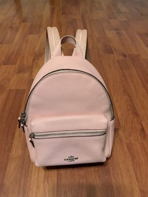 Coach Charlie's mini pink backpack for Sale in Denair, CA