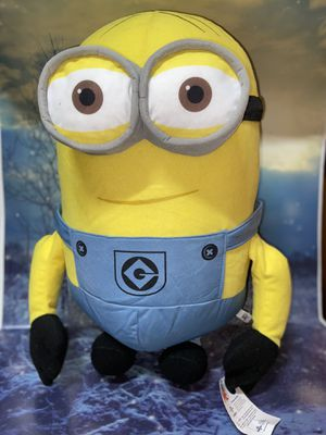 "JUMBO Despicable me Minions Kevin 25"" plush new with tags for Sale in Bellflower, CA"
