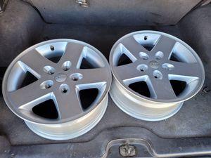 "Two 17"" Jeep Wheels for Sale in Las Vegas, NV"