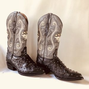 EL General 1901 handcrafted Leather Embroidered Cowboy Boots for Sale in Miami, FL