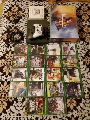 Xbox one s with 18 games for Sale in Harbor City, CA