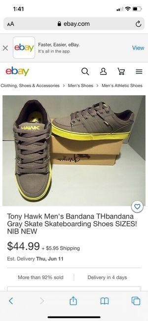 Tony Hawk Men's skateboarding shoes for Sale in Anaheim, CA