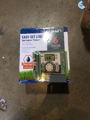 Orbit 6-Station Easy-Set Logic Indoor/Outdoor Sprinkler Timer for Sale in Garden Grove, CA