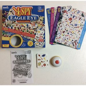 Scholastic I Spy Eagle Eye Find It Game Ages 5 and Up 2-4 Players Complete GC for Sale in Concord, NC